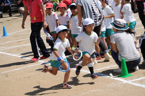 運動会 リレーのサムネイル画像
