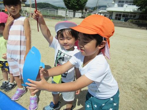 夏まつりごっこリトル②.JPGのサムネイル画像